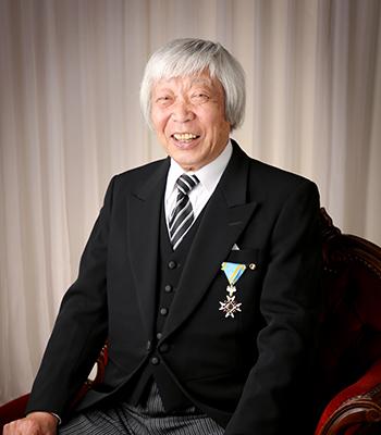 叙勲の記念写真