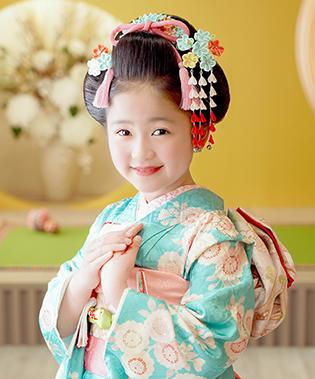 地毛から結う日本髪